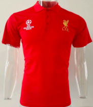 Liverpool 19/20 UEFA Champions League Polo - Red