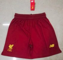 Thai Version Liverpool 19/20 Home Soccer Shorts