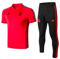 Real Madrid 19/20 Training Polo and Pants - Red