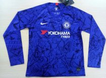 Thai Version Chelsea 19/20 LS Home Soccer Jersey