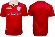 Thai Version Manchester United 1999-2000 Retro Soccer Jersey