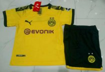 Borussia Dortmund 19/20 Kids Home Soccer Jersey and Short Kit
