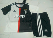 Juventus 19/20 Kids Home Soccer Jersey and Short Kit