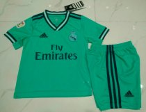 Real Madrid 19/20 Kids Away Soccer Jersey and Short Kit