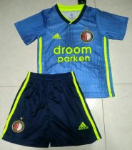 Feyenoord Rotterdam 19/20 Kid's Away Soccer Jersey and Short Kit