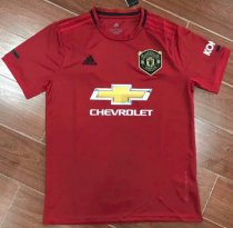 Thai Version Manchester United 19/20 Home Soccer Jersey