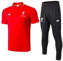 Liverpool 18/19 Polo and Pants - Red