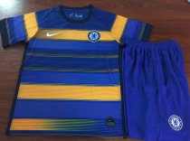 Chelsea 19/20 Kids Training Jersey and Short Kit