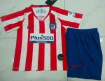 Atletico Madrid 19/20 Kids Home Soccer Jersey and Short Kit
