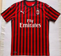 Thai Version AC Milan 19/20 Home Soccer Jersey