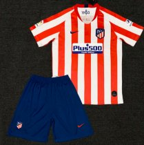 Atletico Madrid 19/20 Home Soccer Jersey and Short Kit