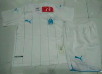 Olympique Marseille 19/20 Kids Home Soccer Jersey and Short Kit