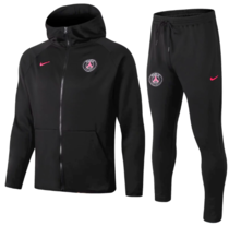 Paris Saint-Germain 18/19 Hoodie and Pants - Black