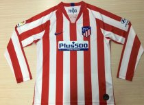 Thai Version Atletico Madrid 19/20 LS Home Soccer Jersey