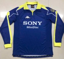 Thai Version Juventus 1998 Retro LS Soccer Jersey