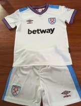 West Ham United 19/20 Kids Away Soccer Jersey and Short Kit