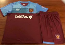 West Ham United 19/20 Home Soccer Jersey and Short Kit