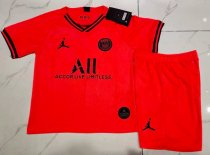 Paris Saint-Germain 19/20 Kids Away Soccer Jersey and Short Kit