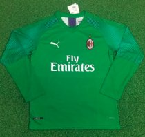 Thai Version AC Milan 19/20 LS Goalkeeper Soccer Jersey