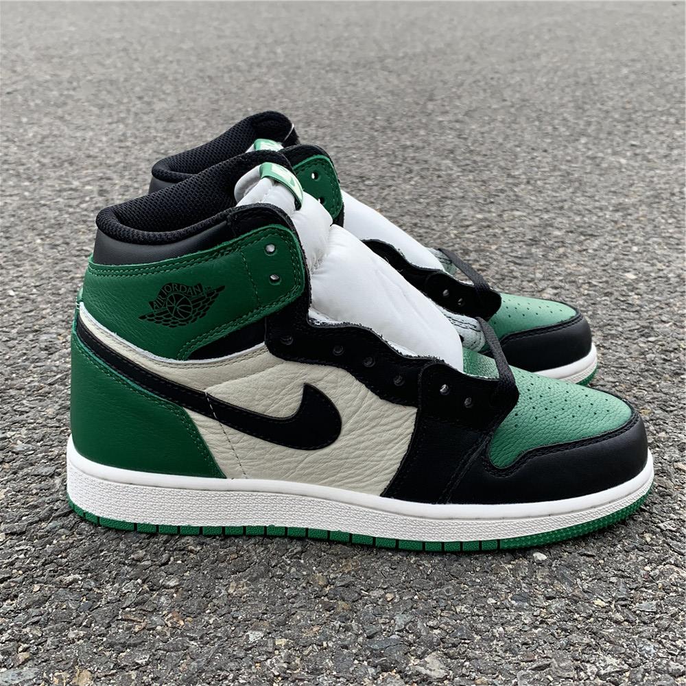"sale retailer 16620 e3bbf Air Jordan 1 GS ""Pine Green"" women size 5-8 Item NO  575441-302"