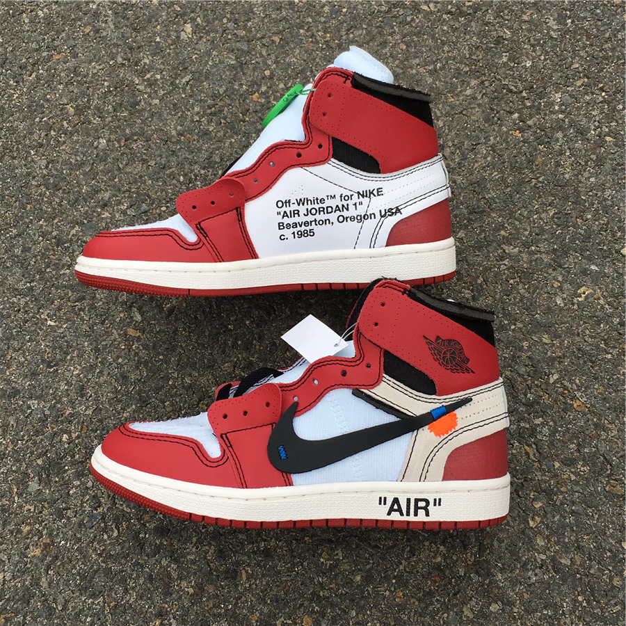 watch 85768 1d173 Air Jordan1 x Off White AJ1 size 4-13