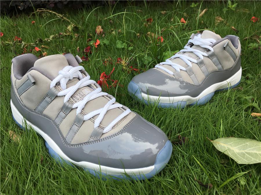 """b73c089f62f909 US  115 - Air Jordan 11 Low """"Cool Grey"""" size 7.5-13 - www.topchen123.com"""