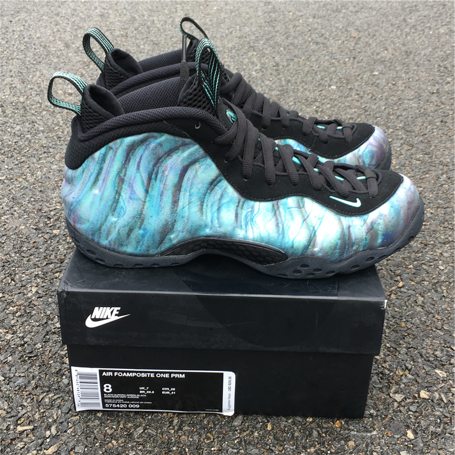 "9549d3f0a5a23 US  175 - Nike Air Foamposite One PRM ""Abalone"" size 8-12 - www ..."