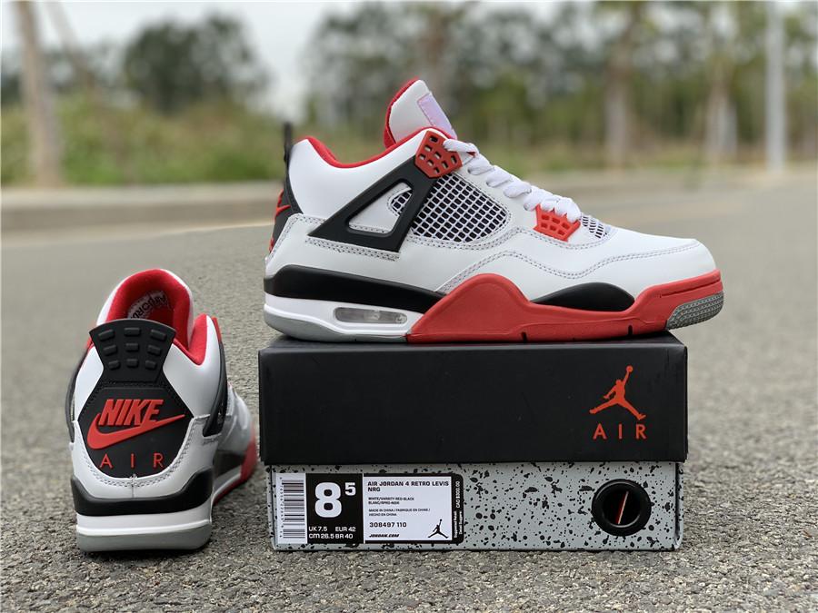 872e7f08e3 US$ 110 - Nike Air Jordan 4 Retro fire red - www.topchen123.com