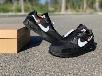 Off-White Nike Air Max 90 Black size 5-11