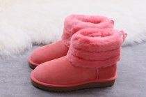 UGG Fluff Mini Quilted pink size 5-9