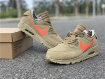 "OFF-WHITE x Nike Air Max 90 ""Desert Ore"" size 5-11"