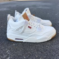 "Levis x Air Jordan 4 ""White"" men size 7-13"