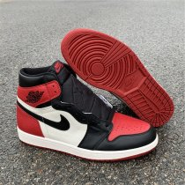 Air Jordan 1 OG Bred Toe men size 8-13