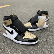 "Air Jordan 1 ""Gold Toe"" size 8-12"