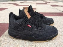 "Levi's x Air Jordan 4 ""Black"" men size 7-13"