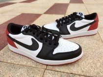 Air Jordan 1 Black Toe low size 8-10