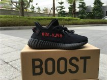 Adidasi Yeezy 350 Boost V2 black red size 5-12