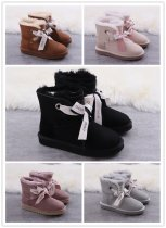 UGG bowknot wool snow boots five colors women size 5-9