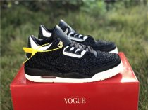 "Vogue x Air Jordan 3 ""AWOK"" black size 7-13"