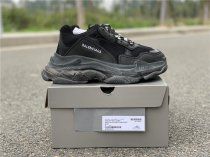 Balenciaga Triple-S Clear Sole Trainers black size 5-11