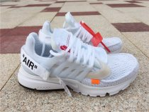 OFF WHITE Nike Presto pure white men size 7-12