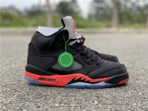 Air Jordan 5 Satin black men size 7-11