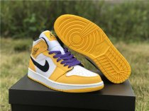 Air Jordan 1 LAKER LOW SIZE 36-46