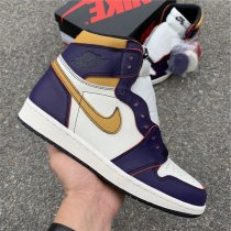 "Nike SB Laker chicago  x Air Jordan 1 ""Defiant 1"""
