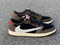 "Travis Scott x Air Jordan 1 Low ""Dark Mocha"""
