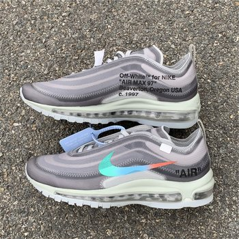 "OFF-WHITE x Nike Air Max 97 ""Menta"" size 5-11"