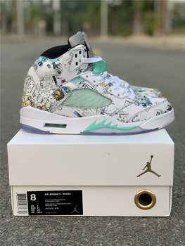 "Air Jordan 5 ""Wings"" men size 7.5-13"