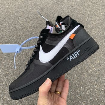 Off-White Nike Air Force 1 Low Black SIZE 5.5-12