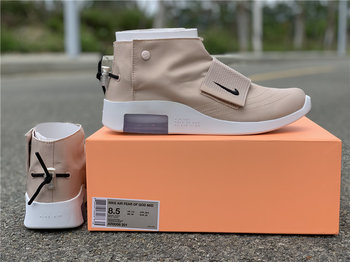 "Fear of God x Nike Air Fear Moccasin""Particle Beige"""