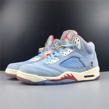 "Trophy Room x Air Jordan 5 ""Ice Blu"